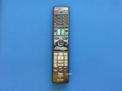画像1: GB113PA ブルーレイディスクレコーダー用リモコン シャープ